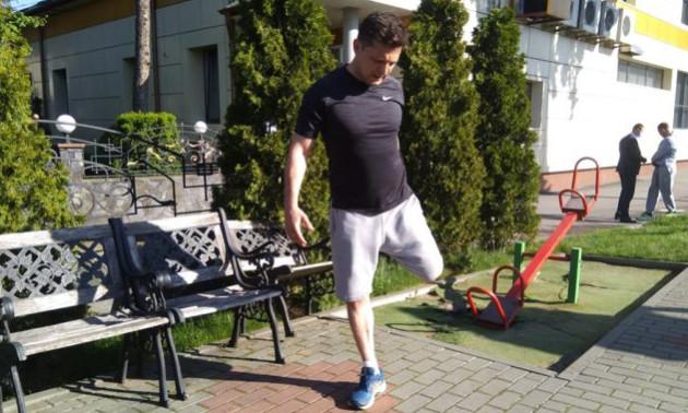 Зеленський пробіг 8 кілометрів у Хмельницькому