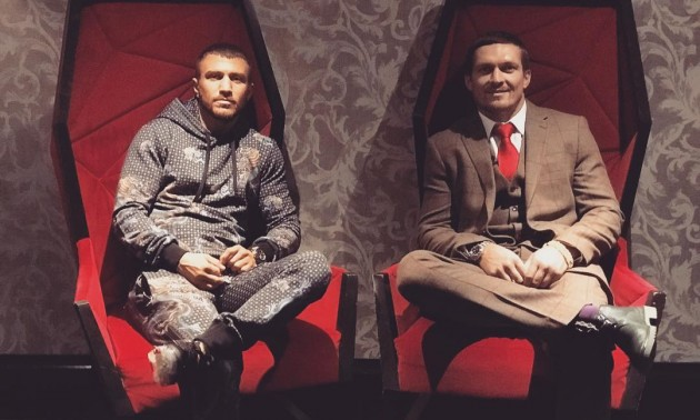 Ломаченко та Усик в п'ятірці найкращих боксерів світу за версією BoxingScene