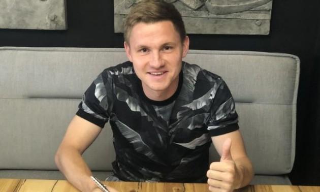 Десна підписала колишнього півзахисника Динамо