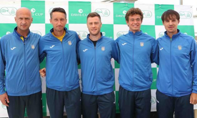 Збірна України дізналася суперника у Кубку Девіса