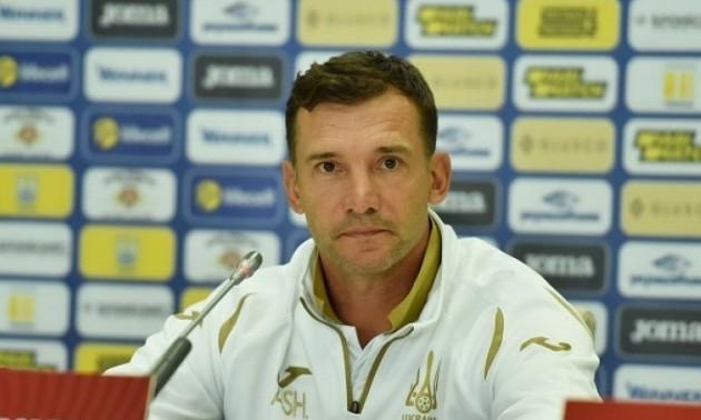 Шевченко оголосив склад збірної України на матчі проти Естонії та Сербії