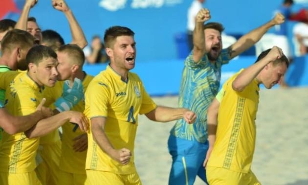 Збірна України розібралася з Іспанією на Європейських іграх