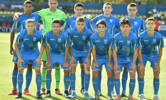 Україна U-17 зіграла внічию із Португалією U-17