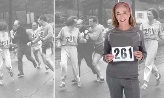 Вона змінила історію. Перша жінка - учасник марафону