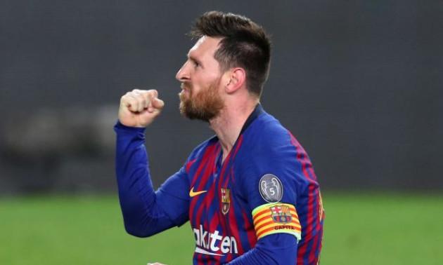 Мессі: Я щасливий у Барселоні