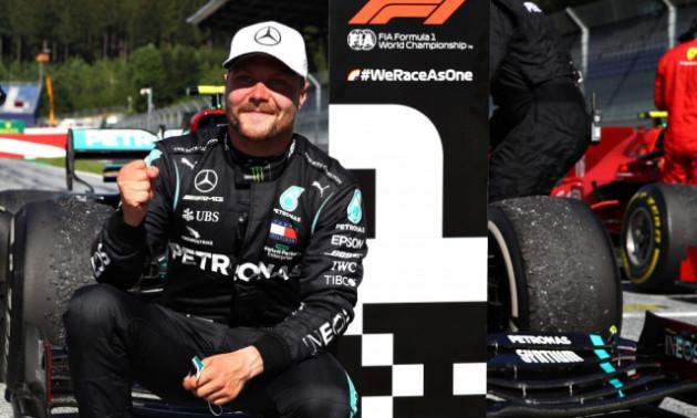 Боттас завоював поул на Гран-прі 70-річчя Формули-1