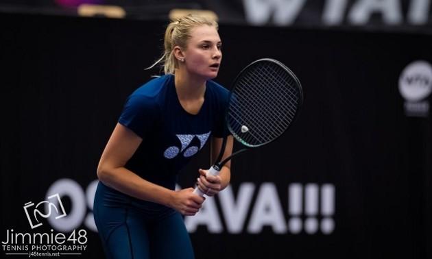 Ястремська поступилася на старті парного турніру у Чехії