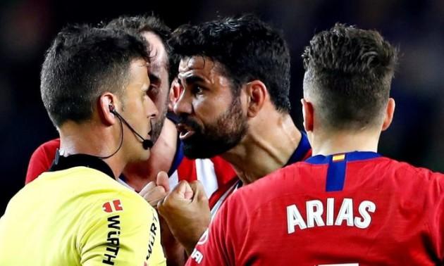 Коста відмовився тренуватися з Атлетіко