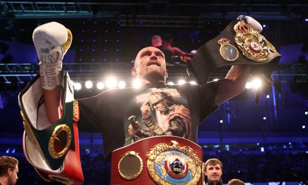 Усик - другий найкращий боксер світу незалежно від вагових категорій