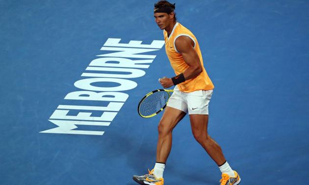 Надаль - перший фіналіст Australian Open