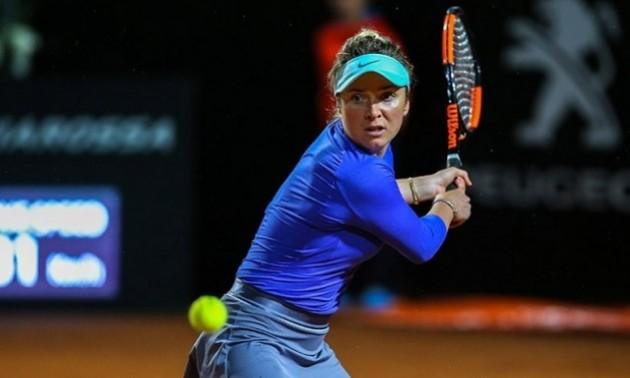 Світоліна програла стартовий матч на турнірі в Римі