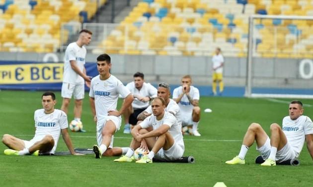 Збірна України провела відкрите тренування