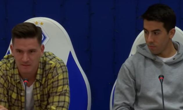 Вербич і Де Пена поспілкувалися з уболівальниками Динамо