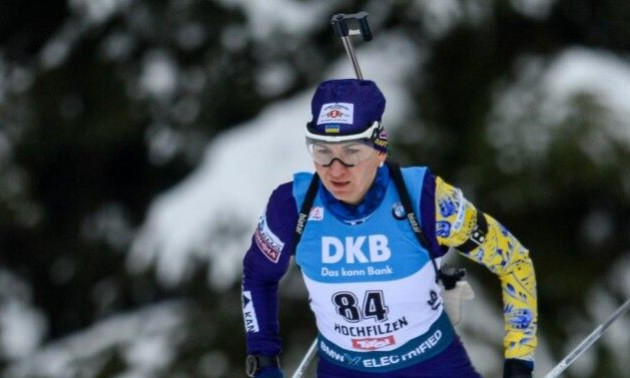 Збірна України фінішувала шостою у жіночій естафеті на Кубку світу