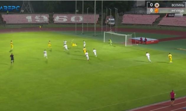 Відео дня. Нападник Інгульця забив фантастичний гол уже на 30-й секунді матчу