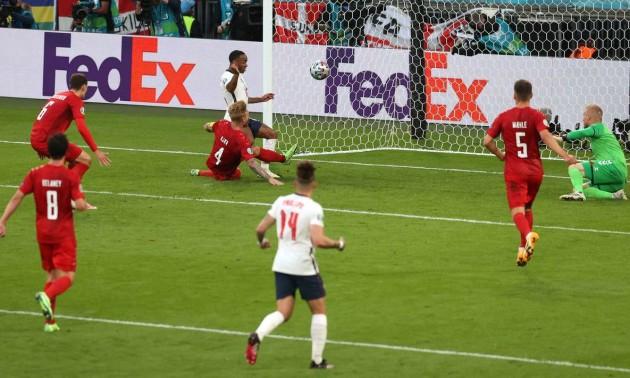 Збірна Англії здолала Данію та вийшла до фіналу Євро-2020
