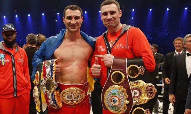Британські чемпіони визначили переможця у можливому поєдинку Віталія та Володимира Кличків