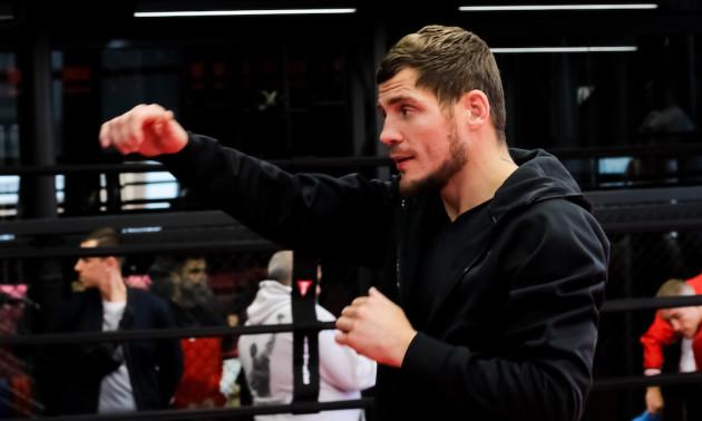 Берінчик провів відкрите тренування перед захистом титулу