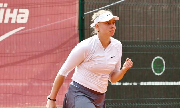 Лопатецька обіграла Петренко та пробилась у півфінал UTF Ladies Invitational