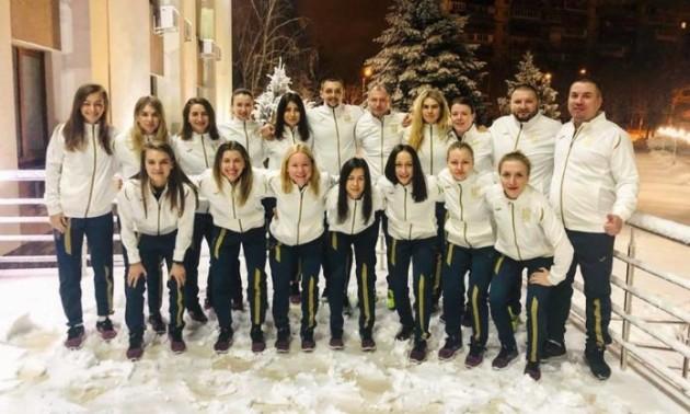 Жіноча збірна України вирушила до Португалії