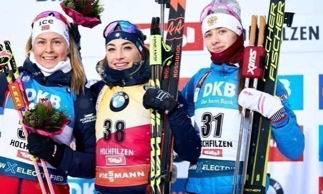 Президент Союзу біатлоністів Росії різко відреагував на бронзу росіянки