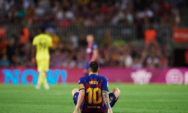 Мессі отримав травму у матчі проти Вільярреала