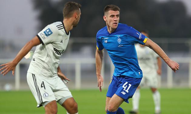 Динамо програло Легії у контрольному матчі