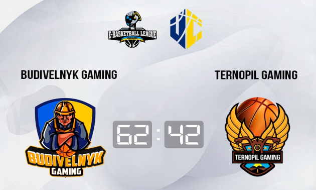 Budivelnyk Gaming впевнено переміг Ternopil Gaming у чемпіонаті України
