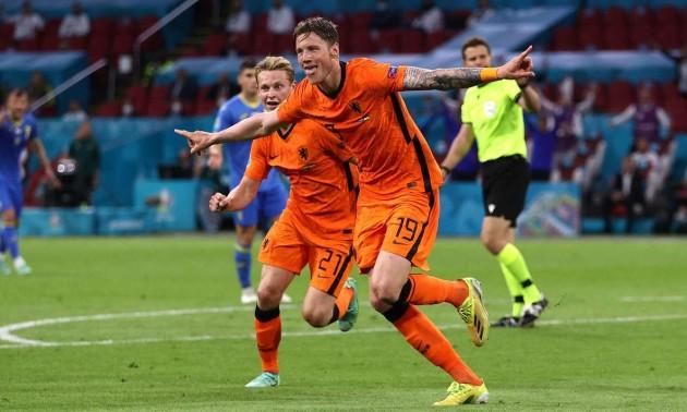 Веггорст забив другий гол у ворота збірної України