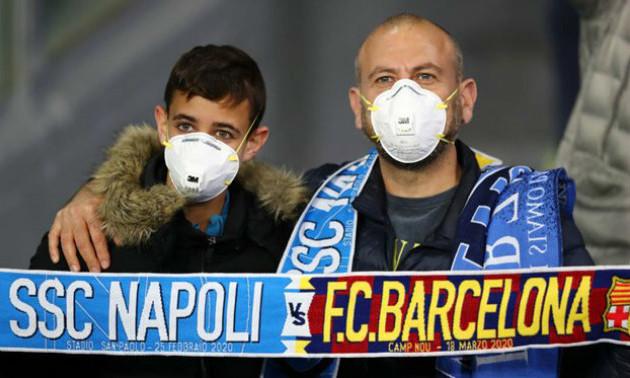 В Італії коронавірусом заразився перший професійний футболіст
