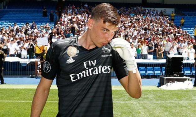Лунін вийде у стартовому складі Реала на матч Кубку Іспанії