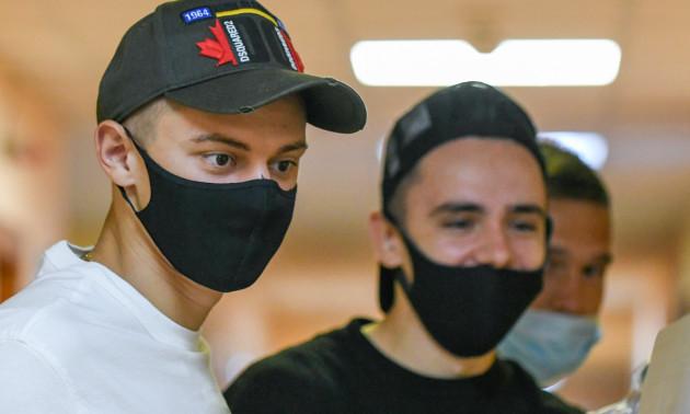 Гравці Динамо повернулися з відпустки
