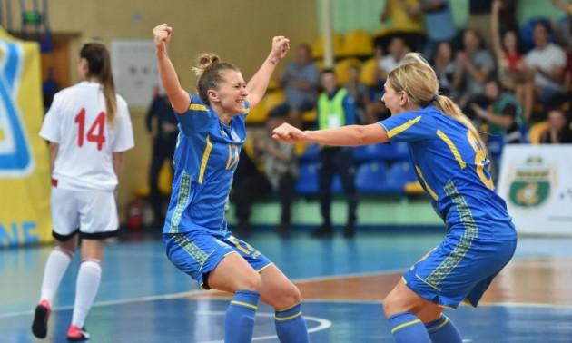 Жіноча збірна України з футзалу вирвала вольову перемогу у матчі відбору до Євро-2019. ВІДЕО