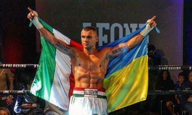 Уродженець України завоював титул IBF International у напівсередній вазі