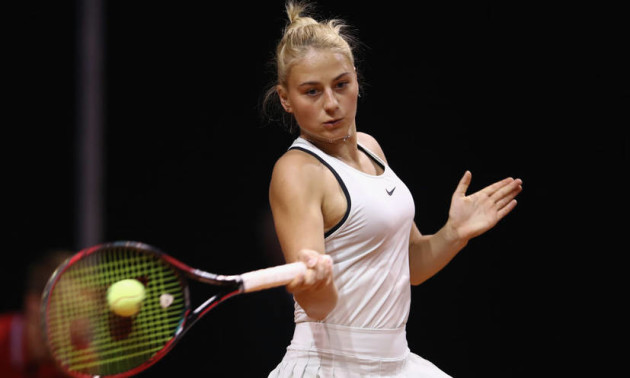 Костюк програла у першому колі парного розряду Australian Open
