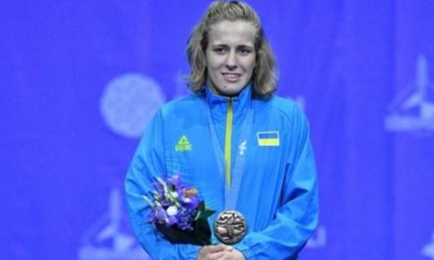 Черкасова з травмою виграла медаль чемпіонату Європи