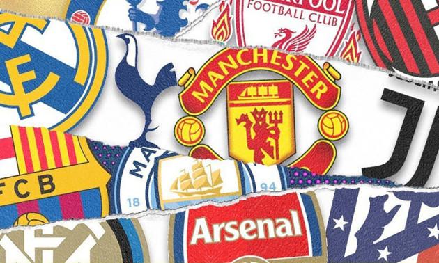 12 ТОП-клубів Європи створили Суперлігу