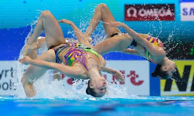 Україна завоювала золото на Чемпіонаті Європи з артистичного плавання