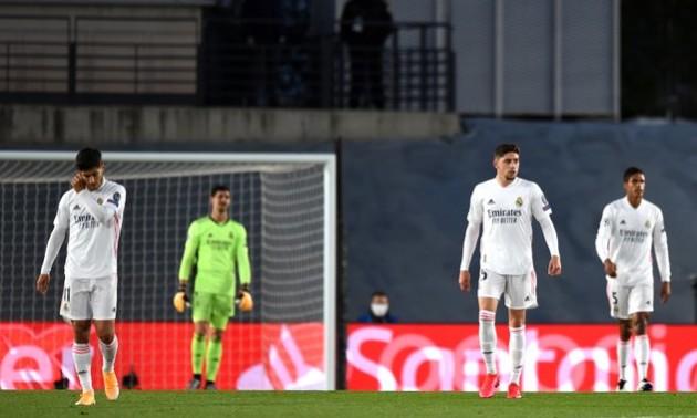 Реал пропустив три голи у першому таймі Ліги чемпіонів вперше з 2005 року