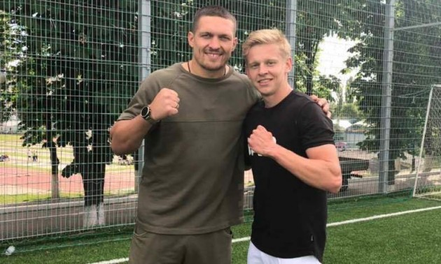 Зінченко у Манчестері підтримає Усика