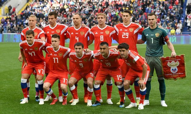 Футболістів збірної Росії масово перевіряють на допінг