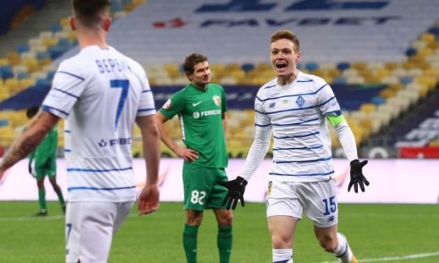 Динамо перемогло Ворсклу у 11 турі УПЛ