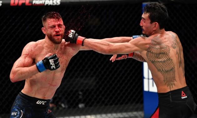Голловей переміг Каттара та інші матчі UFC on ABC 1