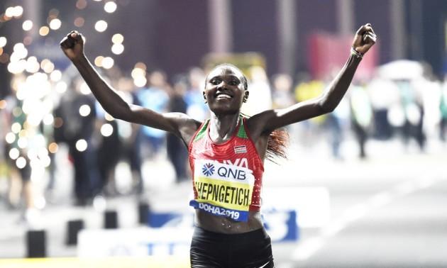 Чепнгетіч встановила світовий рекорд в напівмарафоні