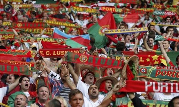 На матчі з Україною очікується близько 200 фанатів Португалії