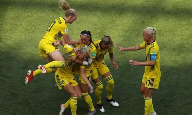 Жіноча збірна Швеції стала бронзовим призером чемпіонату світу