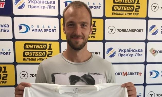 Імереков продовжив контракт з Десною