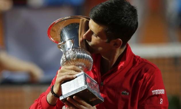 Джокович вп'яте виграв турнір у Римі