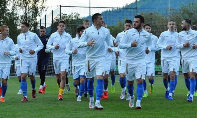 Збірна України U-20 провела перше тренування у Польщі