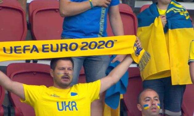 Євро-2020 для нас стартувало. Гімн України перед матчем проти Нідерландів